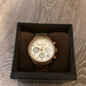 Michael Kors Gold toned watch